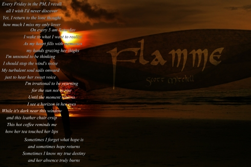 Flamme by Scott Mitchell